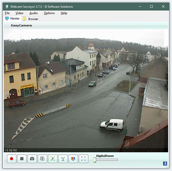 Webcam video recorder software